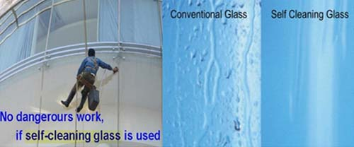 Self Cleaning Glass Time Safety Tempered Glass